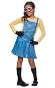 Kids Female Minion Costume