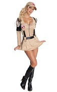 Ladies Ghostbuster Costume