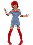 Lady Chucky Costume