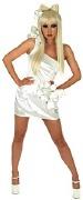 Lady Gaga White Costume