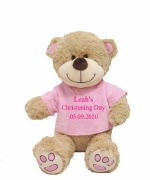 Large Christening Girl Teddy