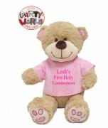 Large Girl Communion Teddy