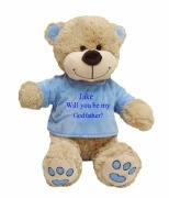 Large Blue Godfather Teddy