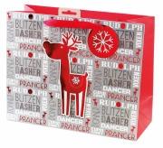 Large Reindeer Gift Bag