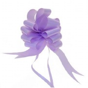 Lavender Pull Bow Ribbon