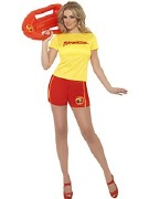 Lifeguard Baywatch Costume