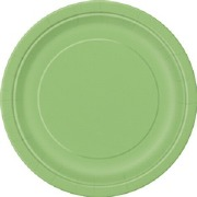 Lime Green Paper Plates