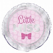 Little Miss Foil Balloon