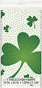 Lucky Shamrock Tablecover