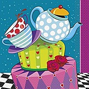 Mad Hatter Tea Party Napkins