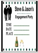 Male Engagement Invitations