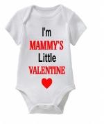 Mammy's Valentine Baby Vest