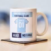 Manchester City Football Mug