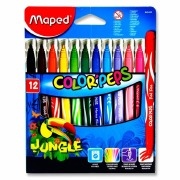 Maped Jungle Colour Markers