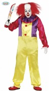 Medium Crazy Clown Costume