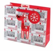 Medium Reindeer Gift Bag