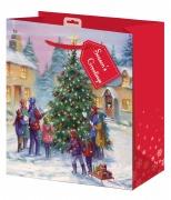 Medium Village Scene Gift Bag