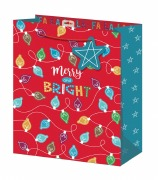 Merry & Bright Large Gift Bag