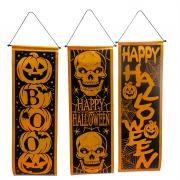 Metallic Halloween Banner