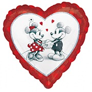 Mickey & Minnie Foil Balloon
