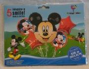 Mickey 5 Piece Balloon Kit