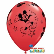 Mickey Mouse Red Balloons