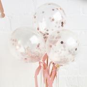 Mini Confetti Balloon Wands