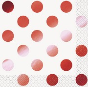 Mini Red Dots Napkins