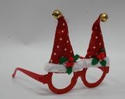 Mini Santa Hat Glasses