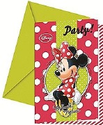 Minnie Party Invitations