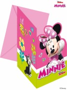 Minnie Bowtique Party Invites
