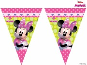Minnie Bowtique Flag Banner