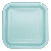 Mint Party Plates