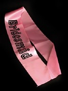 Bridesmaid Pink Sash