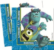 Monster University Napkins