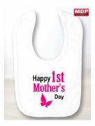 Mother's Day Girl 1st Bib