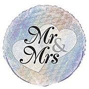 Mr & Mrs Foil Balloon