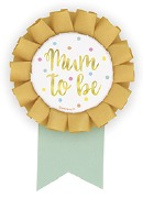 Mum To Be Badge