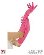 Neon Pink Gloves