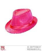 Neon Pink Fedora Hat