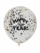 New Year Confetti Balloons