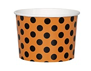 Orange & Black Dots Tubs