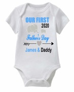 Our First Fathers Day Vest