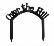 Over The Hill Cake Topper