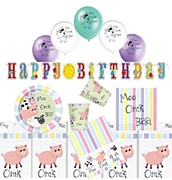 Pastel Farm Party Bundle