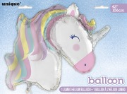 Pastel Foil Unicorn Balloon