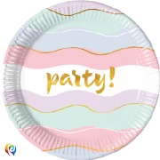 Pastel Party Plates
