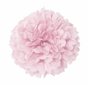 Pastel Pink Puff Ball