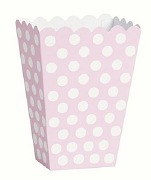 Pastel Pink Treat Boxes