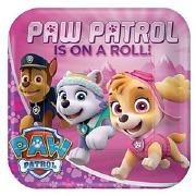 Paw Patrol Girl Plates